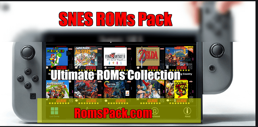 SNES ROMs Pack